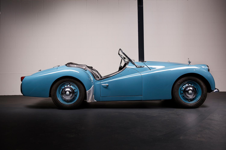 1958 Triumph Tr3a Project Car For Sale: Triumph TR3A 1958